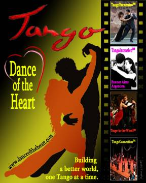 Argentine Tango with Dance of the Heart Logo