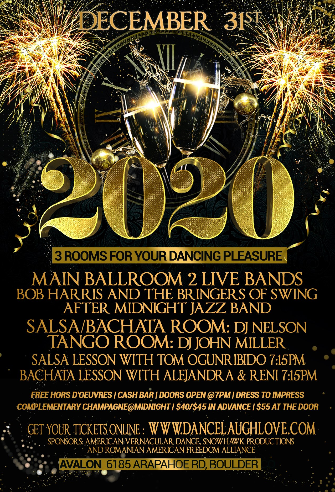 New Years Eve 2020 Poster
